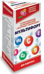 Мультифорт витамины инструкция