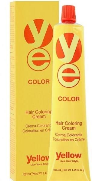 К�емк�а�ка для воло� yellow color hair coloring cream