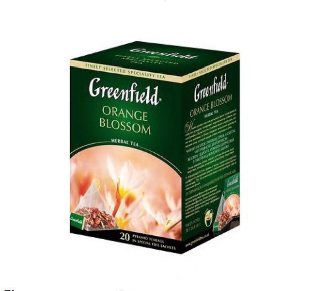 Чай Гринфилд зеленый купить Greenfield зеленый цена