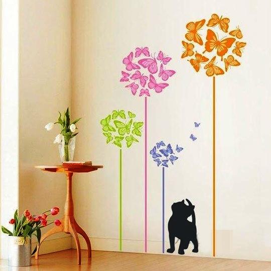 Шаблоны своими руками из бумаги для стен