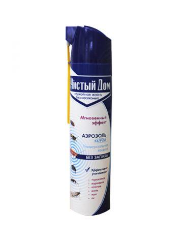 Спрей чистый дом от клопов и блох с экстрактом ромашки 400мл