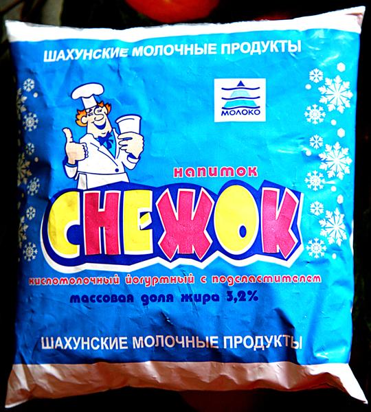 Снежок кисломолочный продукт в домашних условиях
