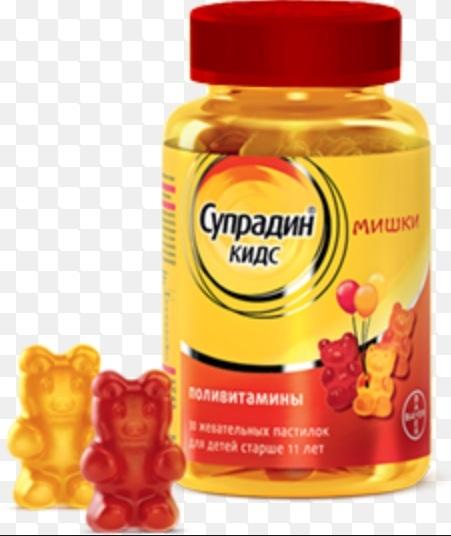Витамины супрадин для детей: отзывы, супрадин кидс.