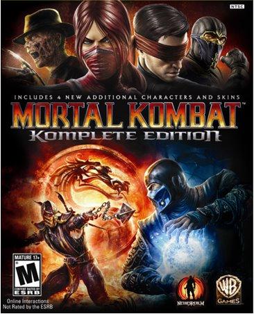 Mortal kombat 9 edition