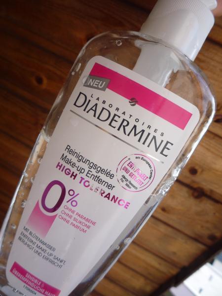 Средство для снятия макияжа diademine hihg tolerance отзывы покупателей.