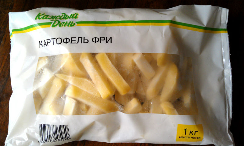 замороженный картофель фри как готовить