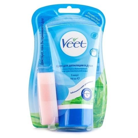 Крем для депиляции в душе чувствительной кожи Veet - отзывы 82931744c27ce