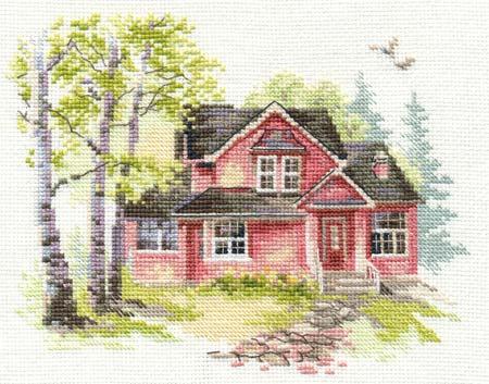 Отзывы о вышивке домиков