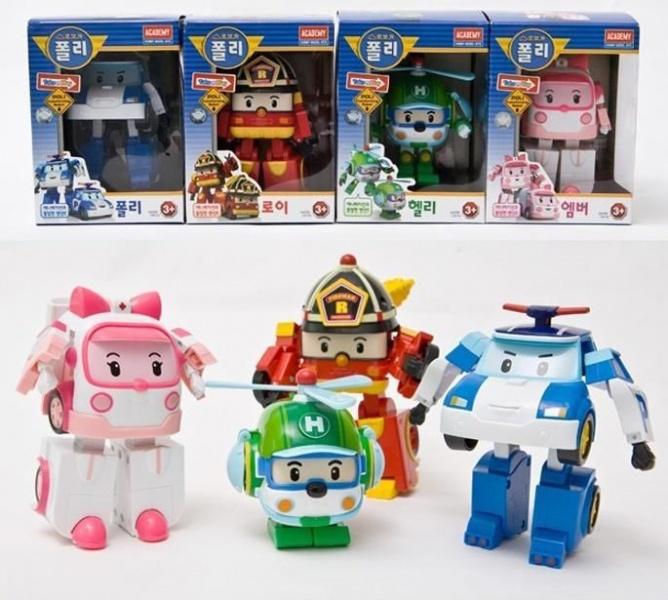 Игрушки робокар поли и его друзья купить