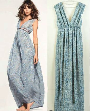 Сарафан AliExpress fashion summer beach dress maxi women free size - отзыв