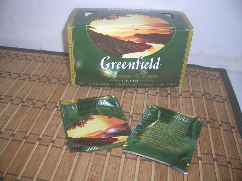 чай Assam в пакетиках