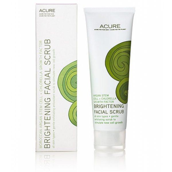 Скраб для лица Acure Organics Brightening Facial Scrub, 4