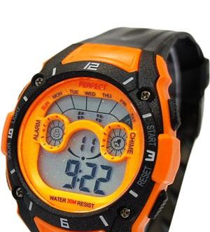 Описание: Спортивные, водонепроницаемые часы Perfect