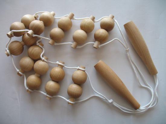 массажер шарики деревянные