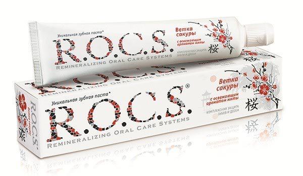 Зубная паста R.O.C.S. Ветка сакуры | Отзывы покупателей