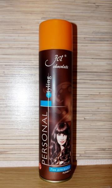 Лак для волос джет