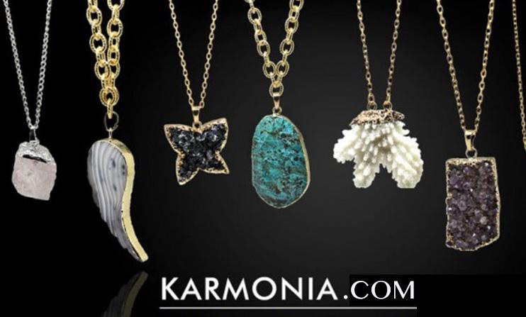 28a9d0f43c8c Сайт Эксклюзивные аксессуары и украшения из натуральных камней Karmonia.com  - отзывы