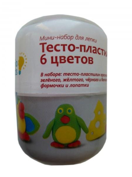 Тесто-пластилин 6 цветов