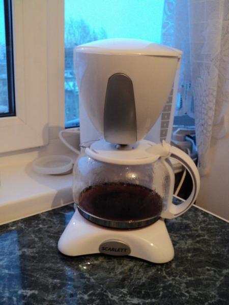 как приготовить кофе в кофеварке скарлет sc-031
