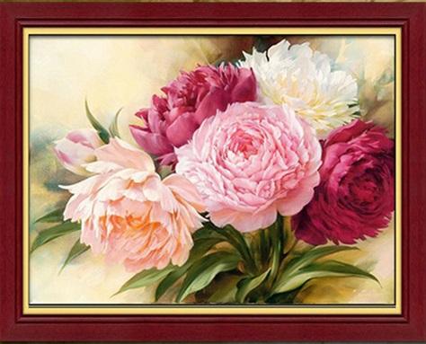 Алиэкспресс цветы алмазная вышивка