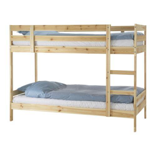 Двухъярусная кровать икеа фото