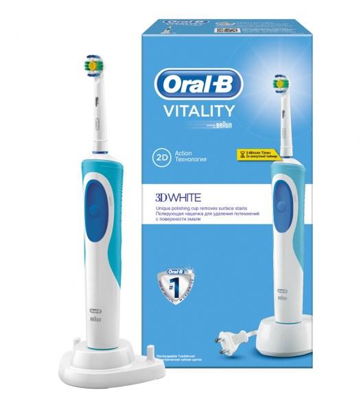 Электрическая зубная щетка Oral-B VITALITY 3D white - отзывы 796c9dce87590