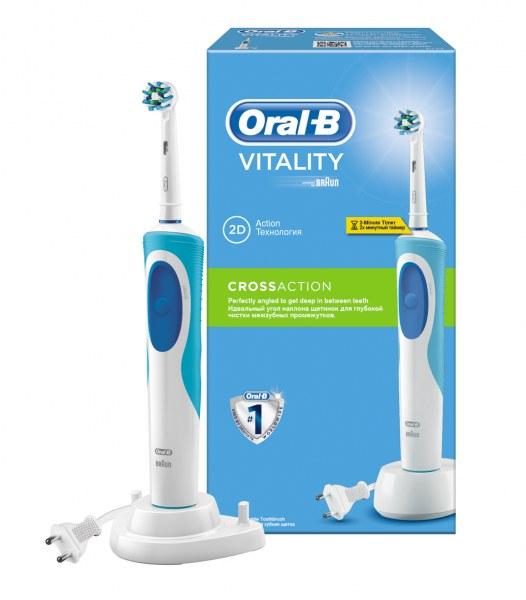 Электрическая зубная щетка Oral-B Vitality Precision Clean   Cross Action -  отзывы 667a280e638eb