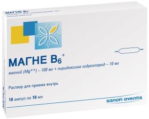 препарат магне б6 инструкция