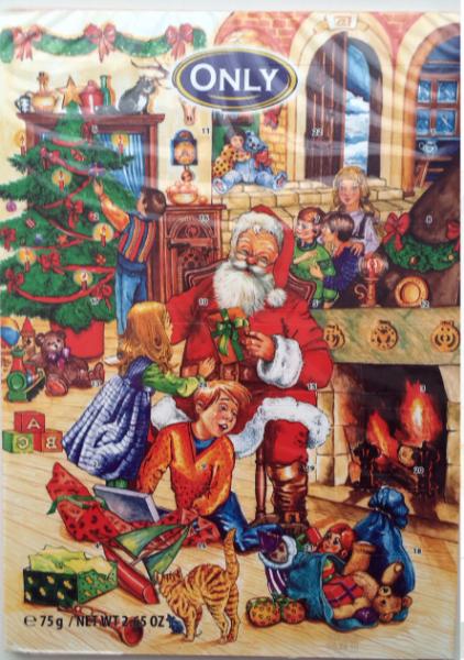 4e332cd801a6 Адвент-календарь Only Молочный шоколад. Рождественский календарь. фото