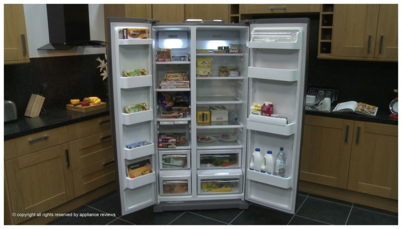 Холодильники side by side фото