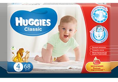 Преимущества и виды подгузников Huggies