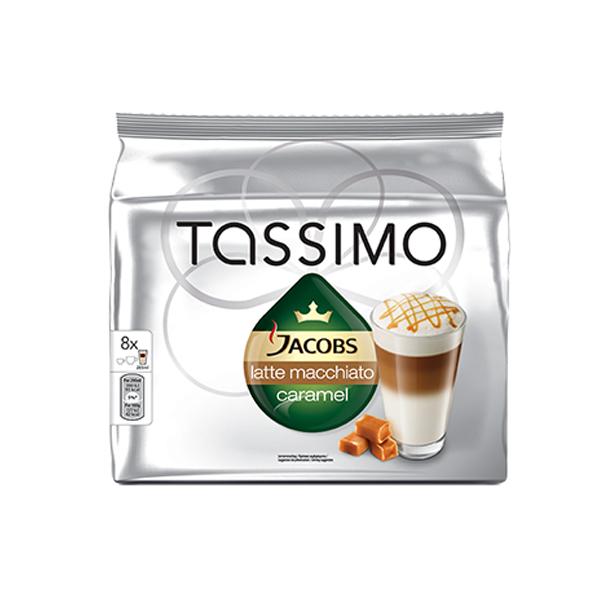 Капсулы для кофе-машин BOSCH Tassimo Jacobs Latte Macchiato Caramel