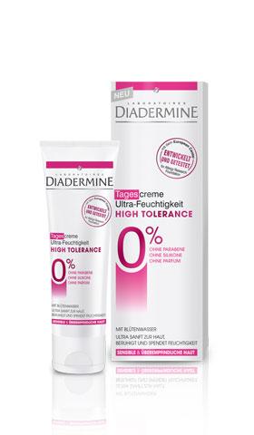 Крем увлажняющий diademine high tolerance ultra дневной - \