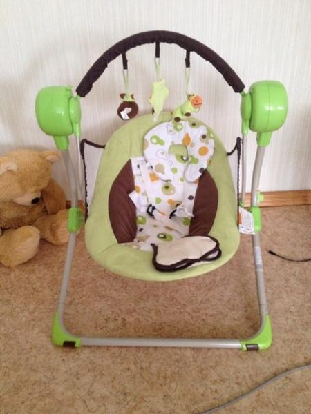 Электрокачели Baby Care Balancelle Инструкция - фото 5