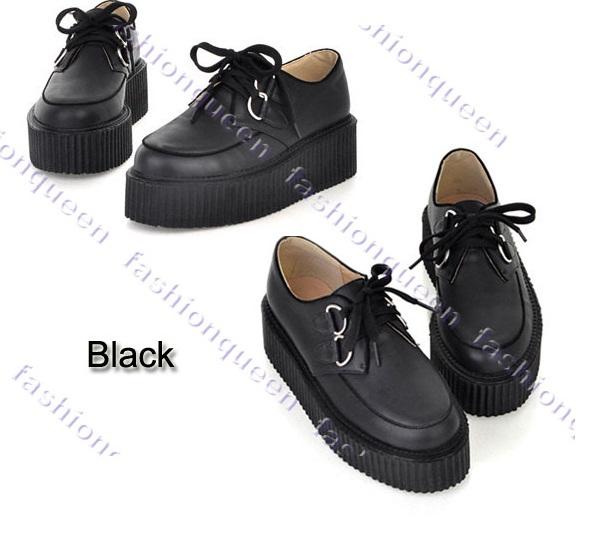 d5642dfb3913b Ботинки Aliexpress Криперы Platform Shoes Retro - «Дешевые ботинки ...