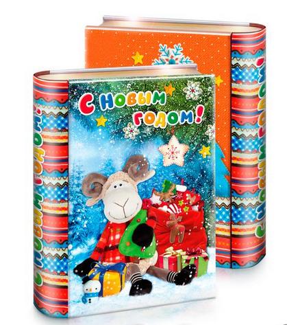 Детские сладкие новогодние подарки к 2019 году