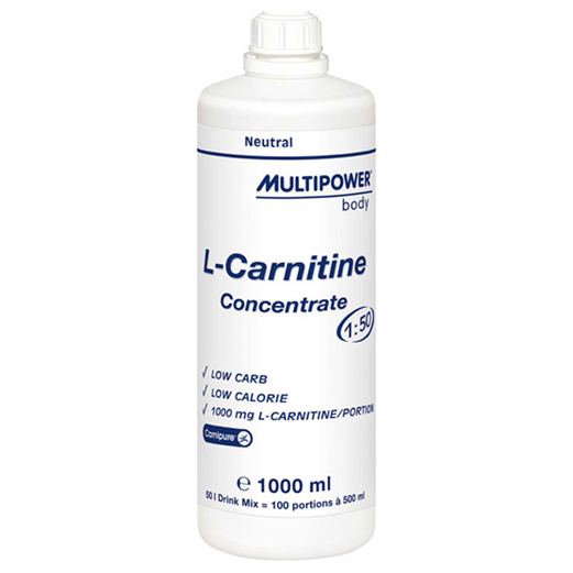 l-carnitine concentrate (Л-карнитин концентрат) Multipower 1000 мл ...