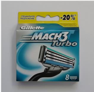 лезвия gillette mach3 цена 8 шт