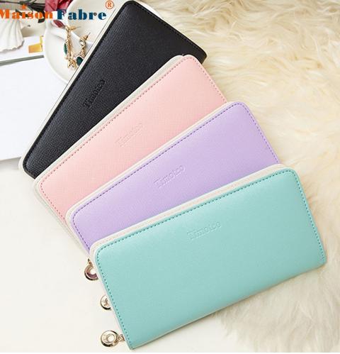 7d141da4dbe2 Кошелек женский Aliexpress High quality Women Clutch Long Purse Wallet Card  Holder Handbag Bag - отзыв
