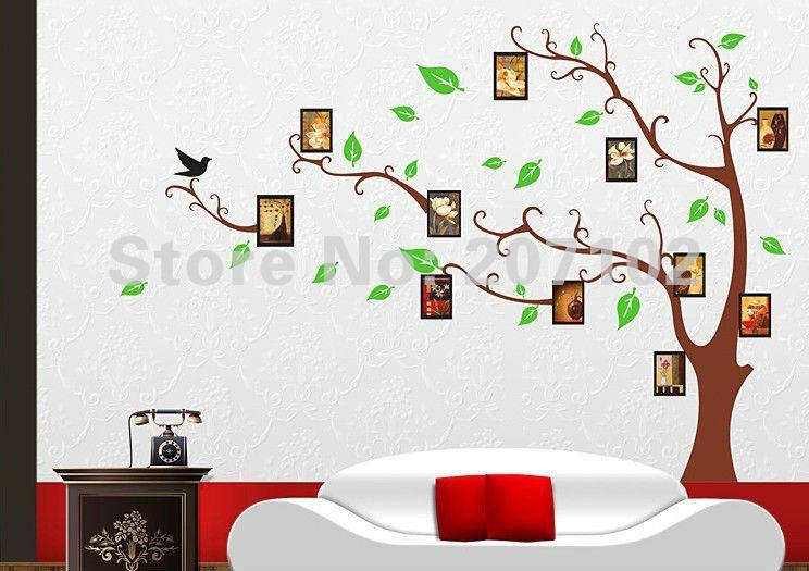 Дерево на стену из фотографий своими руками