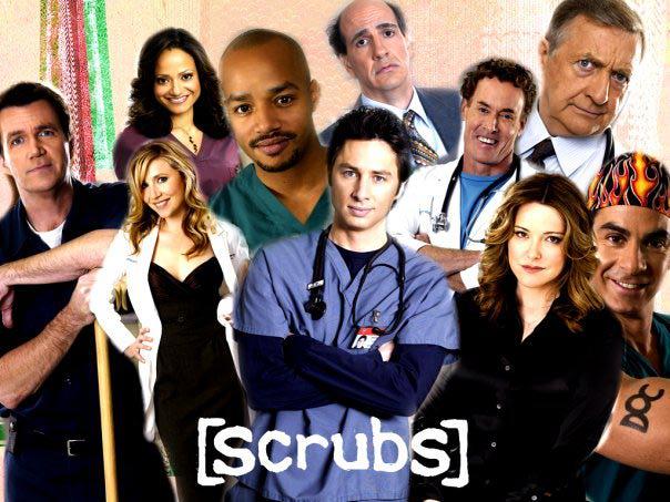 Секс в сериале клиника