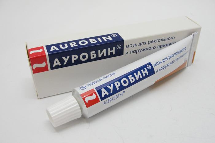 Мазь ауробиновая инструкция