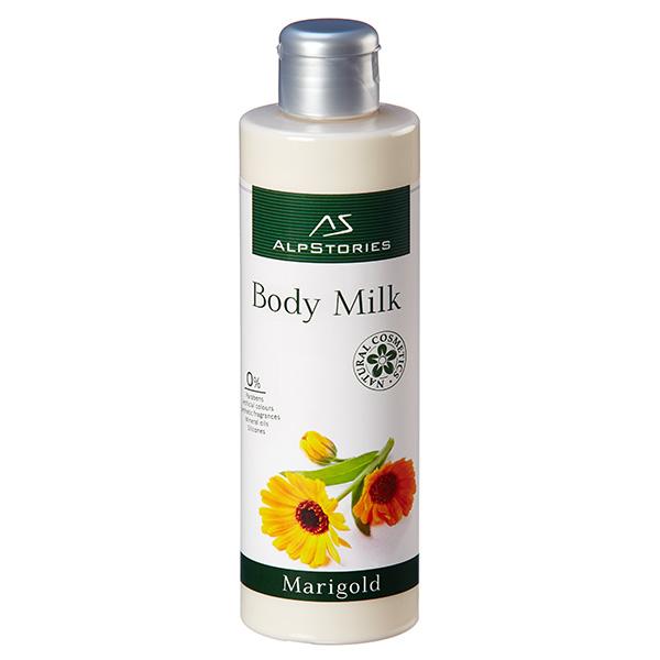 Молочко для тела alpstories body milk marigold - календула. - \