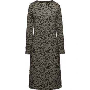 Трикотажное платье с принтом фаберлик
