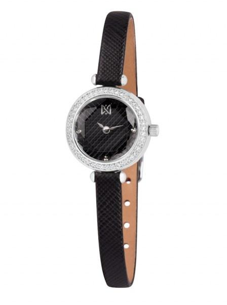 Часы женские Ника в серебряном корпусе Артикул  0396.2.9.57 Коллекция