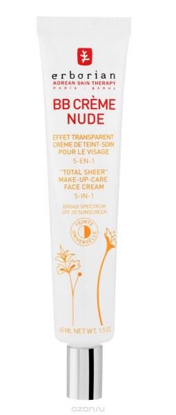 Erborian BB Crème Nude - 45 ml - INCI Beauty