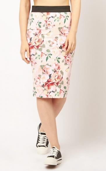 Юбка BEFREE юбка-карандаш фото 5cef81d6a18a2