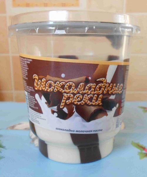 Шоколадная паста из шоколада