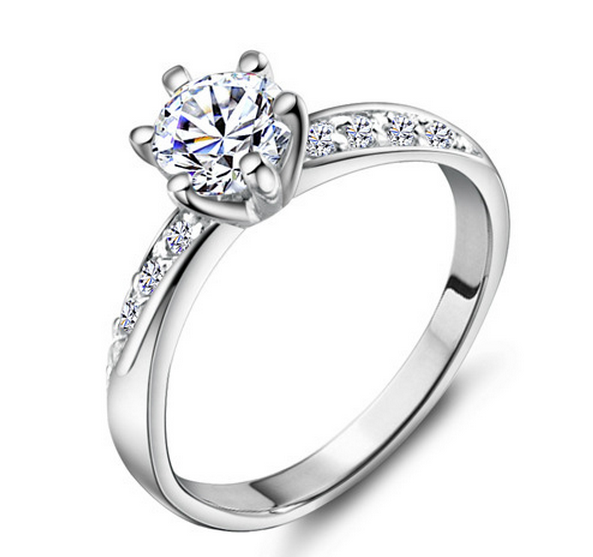кольца серебро фото