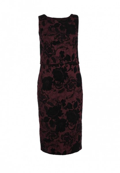 Платье Dorothy Perkins миди с цветочным принтом арт. 07256172 - отзывы 53a69b0fd3f
